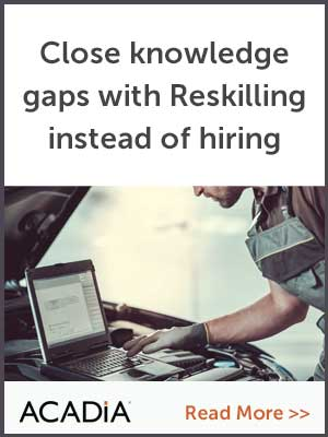 Close knowledge gaps with Reskilling instead of hiring
